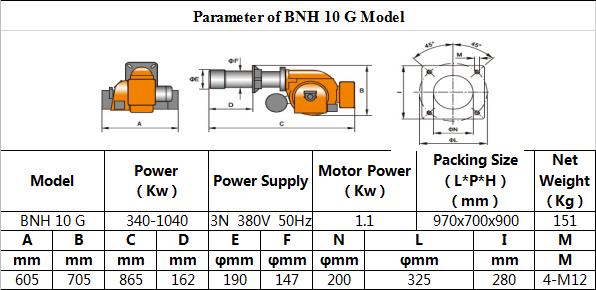 Tabel BNH 10 20G 1